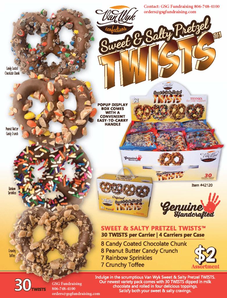 Chocolate Twists